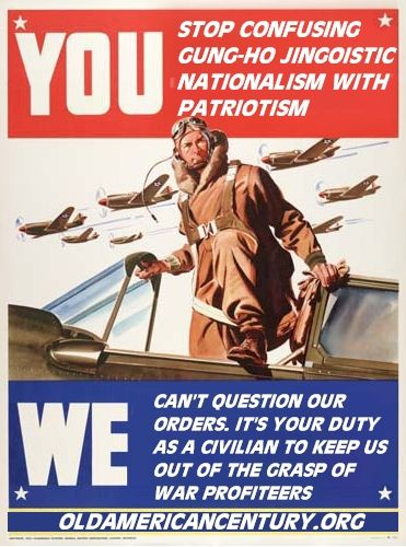What is/are the difference/s between patriotism and nationalism?
