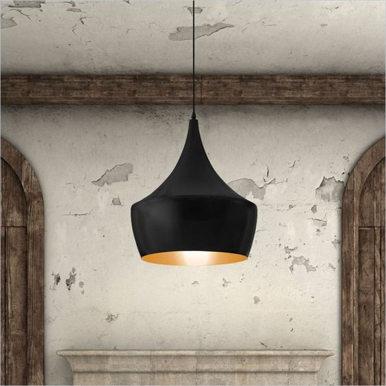 Lowest price online on all Zuo Copper Ceiling Lamp in Matte Black Finish - 98247