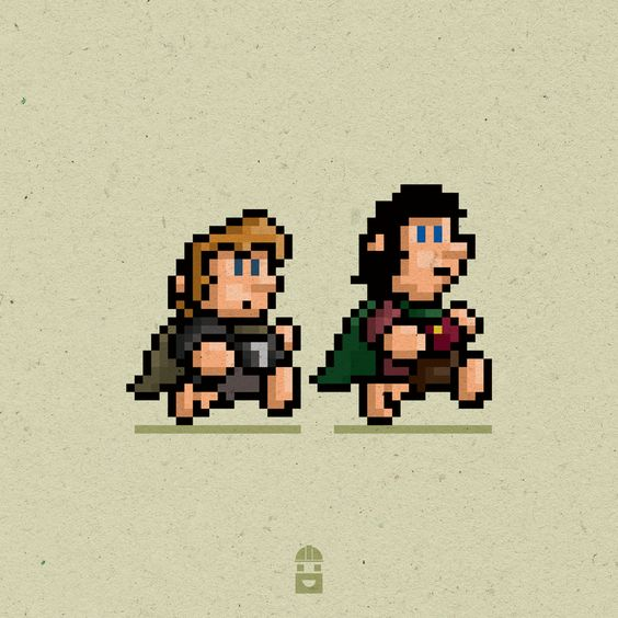 8-bit frodo and Sam