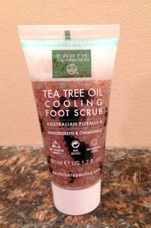 Beauty Test Dummies: Tea Tree Oil Cooling Foot Scrub