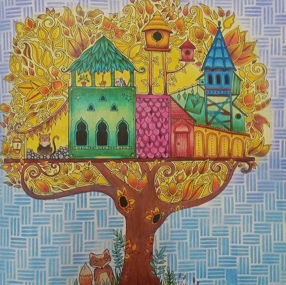 Inspirational Coloring Pages by Leticia Tomita #inspiração #coloringbooks #livrosdecolorir #jardimsecreto #secretgarden #florestaencantada #enchantedforest #reinoanimal #animalkingdom #adultcoloring #milliemarotta