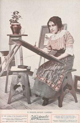 Mulher Portuguesa - Capa da Ilustração Portuguesa, n.º 301, de 27 de Novembro de 1911.