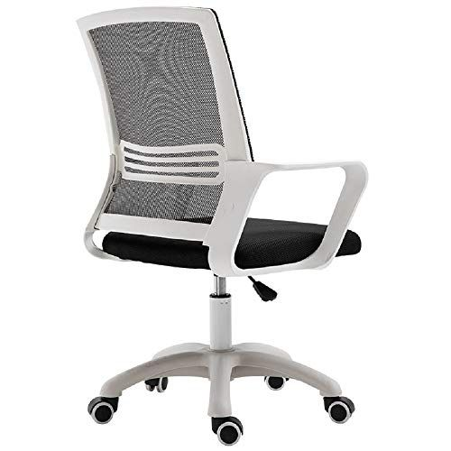 Shurndgao Task Chair Swivel Chair High Back Executive Sliding Heavy Adjustable Swivel Chair High Back Task Chair Home And Ergonomic Desk Chair Mesh Office Chair