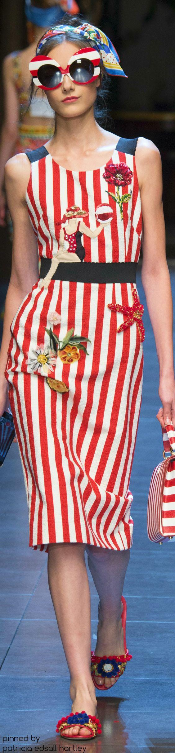 #Farbbberatung #Stilberatung #Farbenreich mit www.farben-reich.com SPRING 2016 READY-TO-WEAR Dolce & Gabbana: