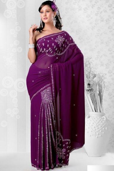 Beautiful pre-stitched sari  $71