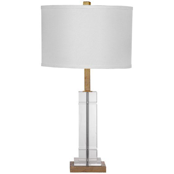 Bassett Mirror Hollywood Glam Mitchum Table Lamp
