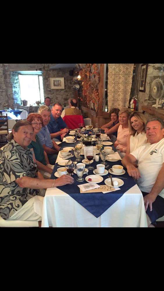 """Ile d'orleans lunch with the """"8"""""""