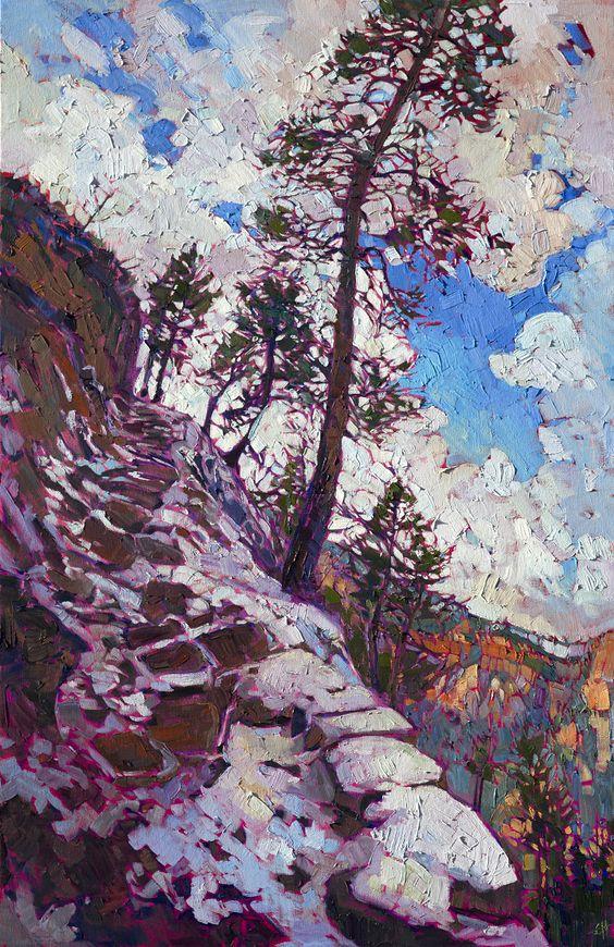 Les-tableaux-style-impressionnistes-des-parcs-naturels-de-Erin-Hanson-7