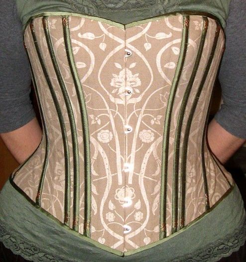 corsetry: Green is for corsets!