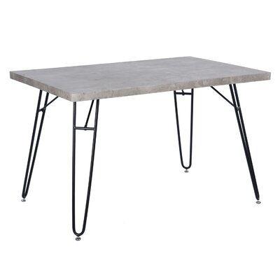 Wrought Studio Stephenie Desk Wayfair In 2020 Dining Table Dining Table In Kitchen Dining Table Online