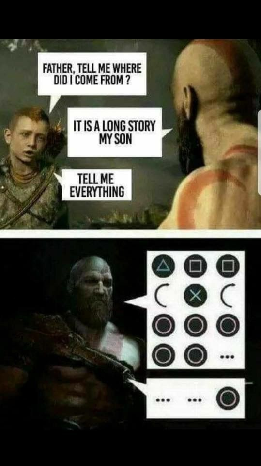 God Of War Meme God Of War Funny Gaming Memes Kratos God Of War