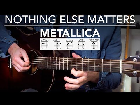 Nothing Else Matters Guitar Lesson Tutorial Metallica Fingerstyle Songs Youtube In 2021 Guitar Lessons Guitar Lessons Tutorials Guitar