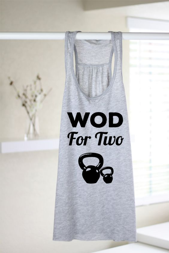 Flowy Tank - Wod For Two - Crossfit Tank Tops - Crossfit Tank - Crossfit Clothing - Crossfit - Crossfit Mom - Workout Tank - Fitness Mom by RuggedAndFit on Etsy https://www.etsy.com/listing/253010890/flowy-tank-wod-for-two-crossfit-tank