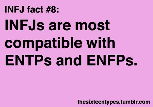 "entp dating enfp During dating she wants a man to be emotionally entp,infj, enfp 16 responses to "" sexual chemistry vs compatibility – myerrs briggs."