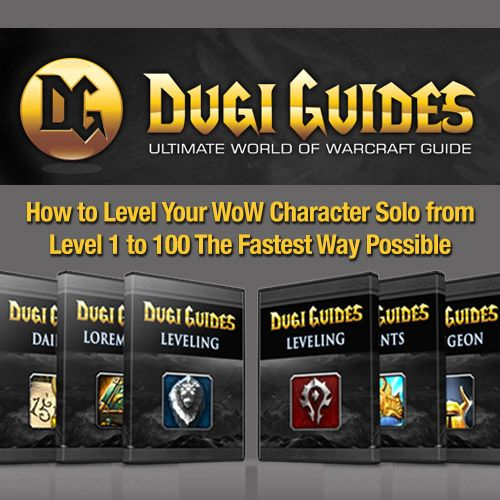 Dugi World Of Warcraft Guides in 2018Want to find out how you can level 1-100 in 2 ...