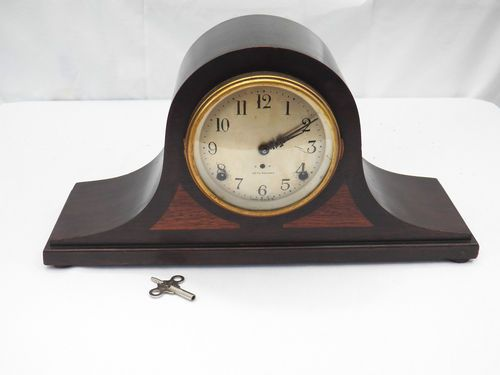 SETH THOMAS SENTINEL #2 Antique Mantel Clock- 89 Movement ~WORKING~NR-USA Mantle