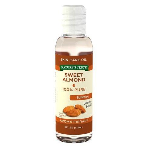 Nature S Truth Sweet Almond Aromatherapy Skin Care Essential Oil 4 Fl Oz Essential Oil Skin Care Aromatherapy Skin Care Oil Skin Care