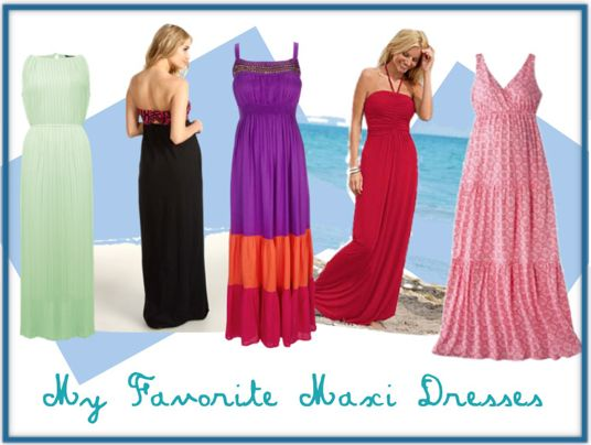 Maxi Dresses #summer. the purple one!