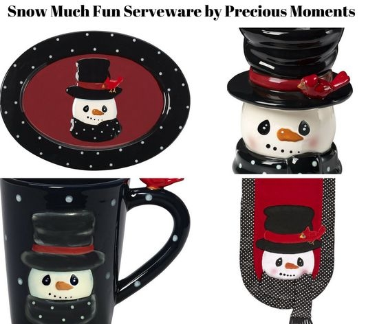 Snow Much Fun Serveware by Precious Moments