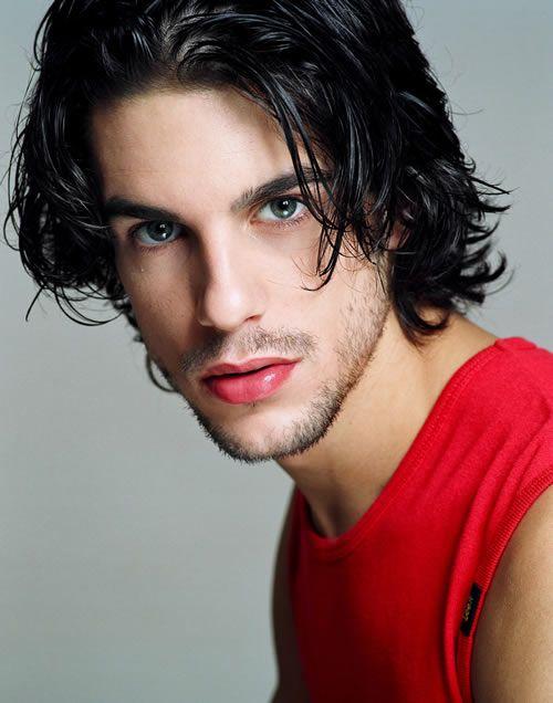 Alejo Sauras : Guys with Long Hair : Pinterest