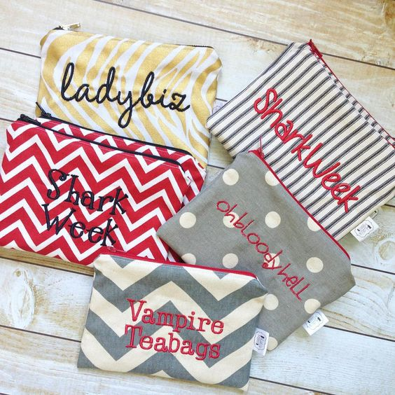 Shipped out a dozen #snarkyzippies today! These are great for lady products. #yesthoseladyproducts