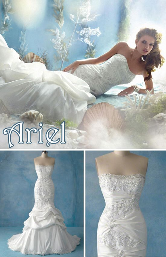 Ariel Wedding Dressses And Alfred Angelo On Pinterest