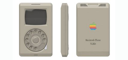 ¿Cómo habría sido un iPhone (o MacPhone) en 1984? - http://2ba.by/23vne
