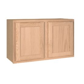 Project source 30 in x 18 in unfinished wall cabinet 88 for Kitchen cabinets 30 x 18