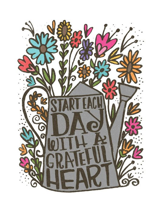 Start Each Day with a Grateful Heart - Words n Quotes