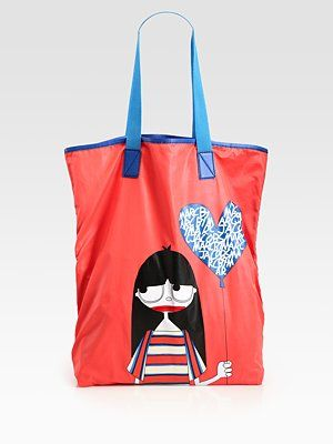 Marc by Marc Jacobs Miss Marc Nylon Packable Tote Bag