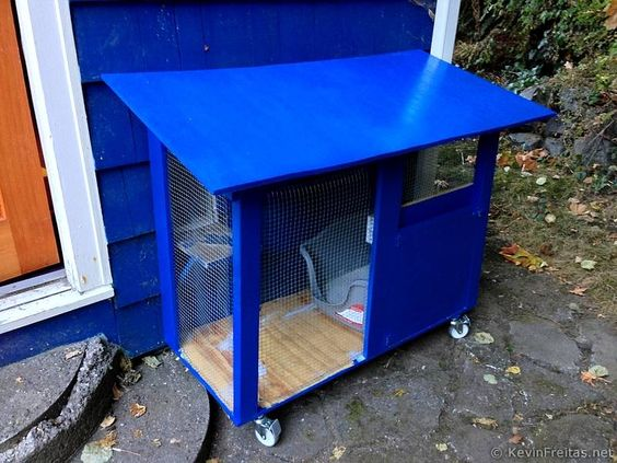 Pinterest the world s catalog of ideas for Diy portable chicken coop