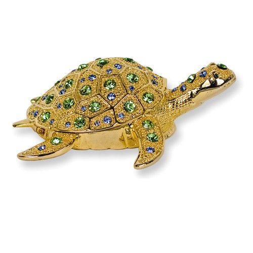 Sea Turtle Trinket Box