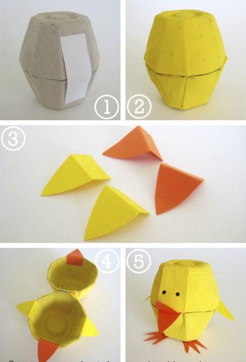 reciclar caixa de ovo - Pesquisa Google
