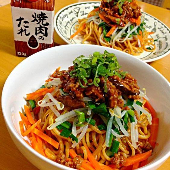 今日も、スタミナ料理✨ 創味のたれをつかって、 韓国風焼きそばです ニンニクが効いて、甘み少ないとみんなが言ってたので、ちょっと大人の辛い焼きそばにしましたっ✨  お野菜たっぷり栄養バッチリぃ〜 - 256件のもぐもぐ - 創味 焼肉のたれ で韓国風焼きそばʕ•̫͡•ʔ♬✧ by かよ