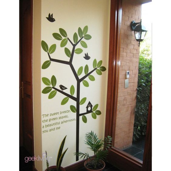 Green Garden Removable Wall Sticker $28, Location: USA. CLICK on the image to visit our store. Questions? Just leave your comment!