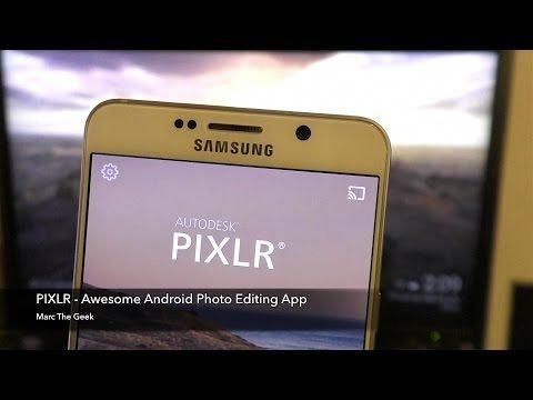 Autodesk Pixlr Excellent Android Photo Editing App Youtube