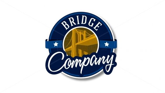 Bridge Logo — Ready-made Logo Designs | 99designs. Badge/emblem style.