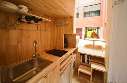 Une maison compacte de 23 m² offrant suffisamment d'espace