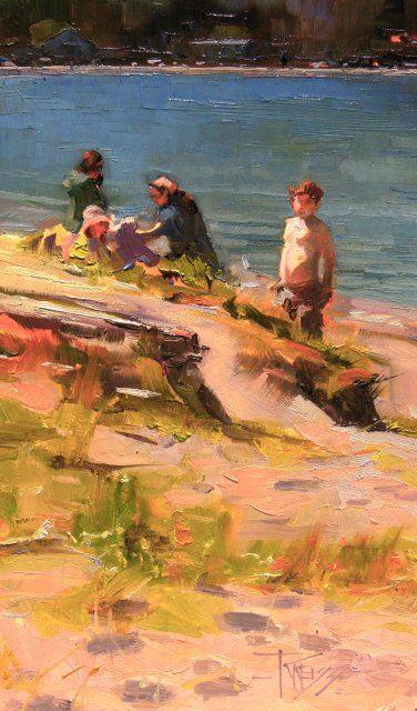 Galerie en ligne de l'artiste Robin Weiss, Plein Air Peintre du Nord-Ouest, Seattle, Portland, Vancouver