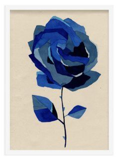 As Collective, Blue Doodle Flower 367