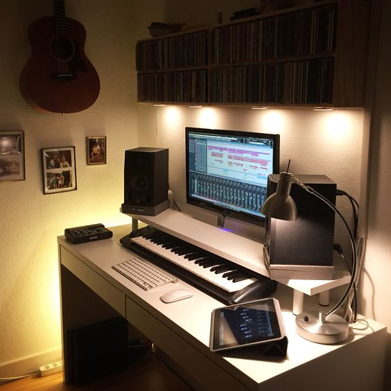 Amazing My Home Studio Living Room Setup Copenhagen Denmark Music Largest Home Design Picture Inspirations Pitcheantrous