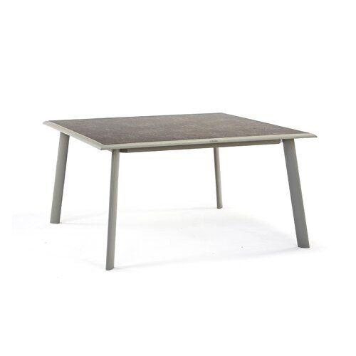Esstisch Reiban Aus Aluminium Garten Living Esstisch Quadratisch Esstisch Tisch