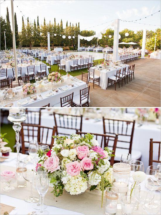 Real weddings kara jason reception centerpieces and wedding junglespirit Gallery