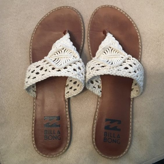 Billabong Flip Flops Only worn twice | No trades ❤️ Billabong Shoes