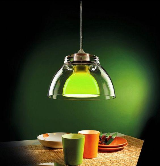 Sospensione da soffitto GILDA BIG Verde - PAN SOS083