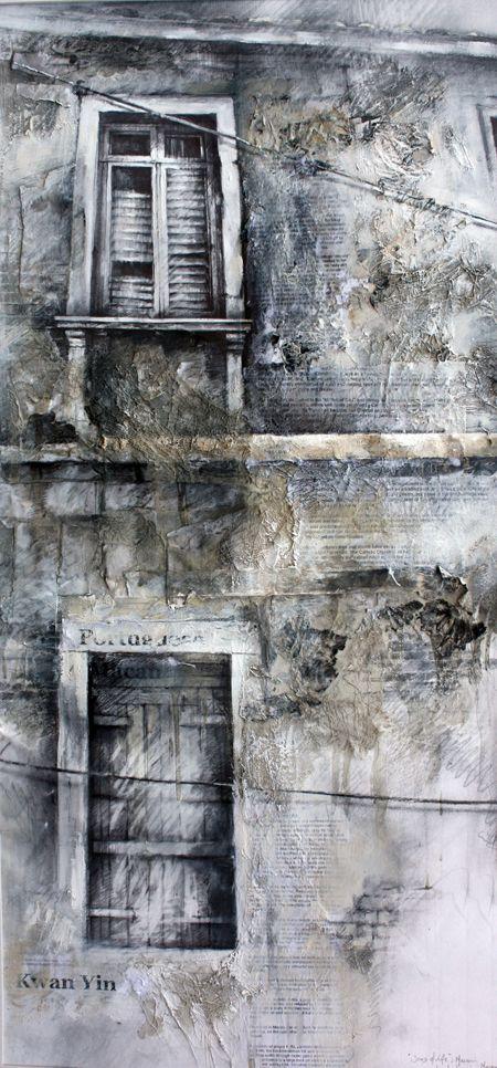 Scars of Life, Macau III » Ian Murphy Drawings