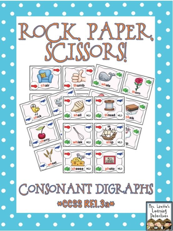 Fun way to practice decoding words with consonant digraphs! {ch, th, sh, ph, wh}