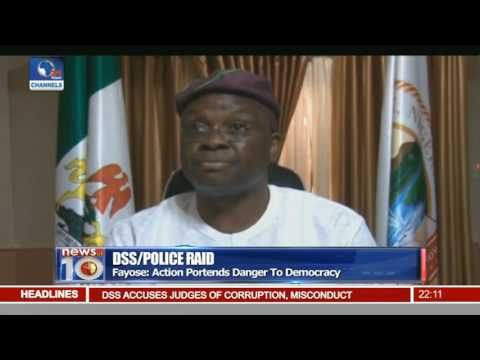 Fayose Faults DSS Raid On Judges - YouTube