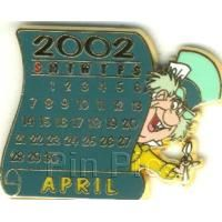 Pin 10863 DS - 12 Months of Magic Calendar Series (April / Mad Hatter)