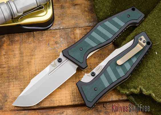 Benchmade Knives: 757 - VICAR - Sibert Design - Liner Lock